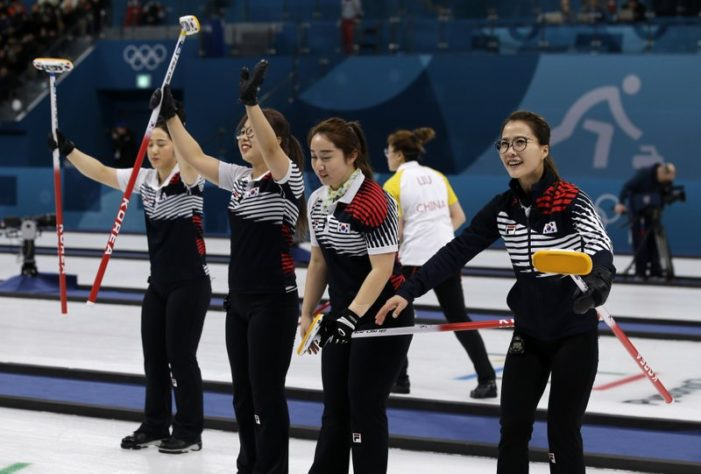 """The """"Garlic Girls"""" South Korea's Olympic Curlers a Global Sensation"""