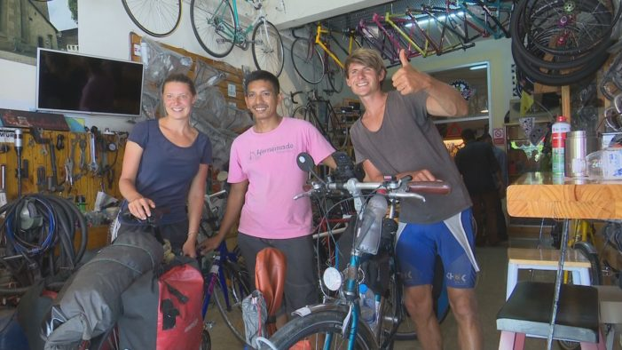 German Brothers Cycling the World Arrive in Thailand