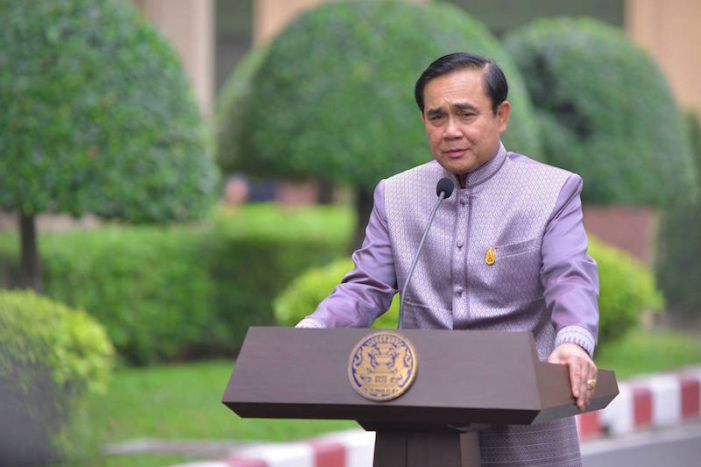 Prime Minister Prayuth Chan-ocha Affirms Elections to be Held by Next February
