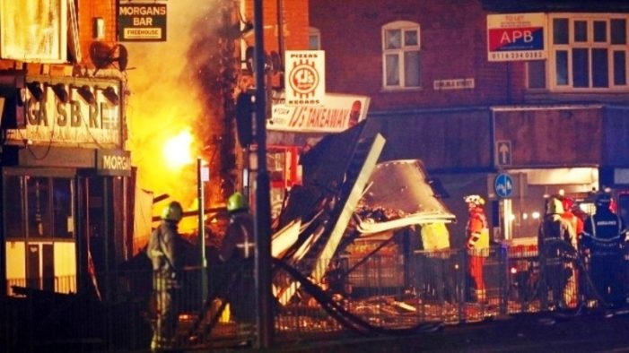 Explosion in Leicester, England, Destroys Building, Killing at Least 5