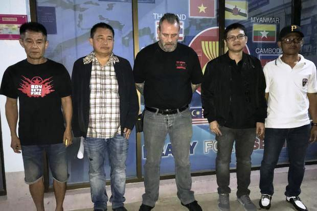 Briton Tied to Hell's Angels Pattaya Member Arrested in Nakhon Sawan Province