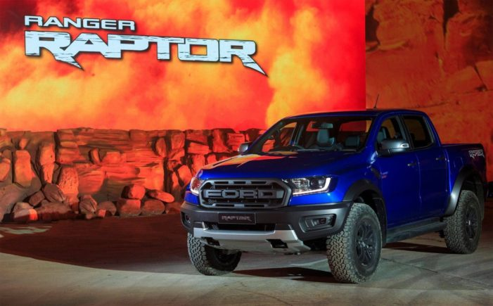 Ford Unleashes First-ever Ranger 'Raptor' in Thailand