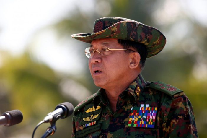Myanmar Army Chief Honored With Thailand's Knights Grand Cross, Despite Rohingya Crisis