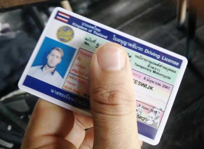 British Embassy Partner with Thailand Over Drivers Licenses for Foreigners