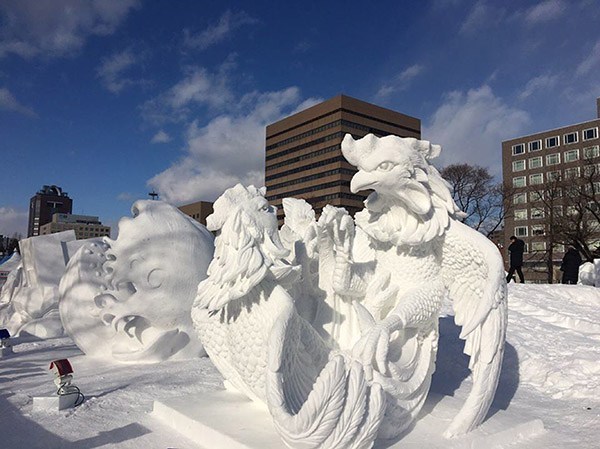 """Thailand's """"Kai Chon"""" Ice Sculpture Wins Grand Prize in Sapporo, Japan"""