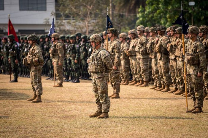 Huge Number of US Soldiers Arrive in Thailand for Military Exercises