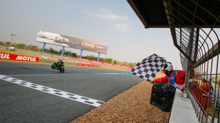 World Super-Bike Racer Jonathan Rea Takes First Win of Season in Thailand