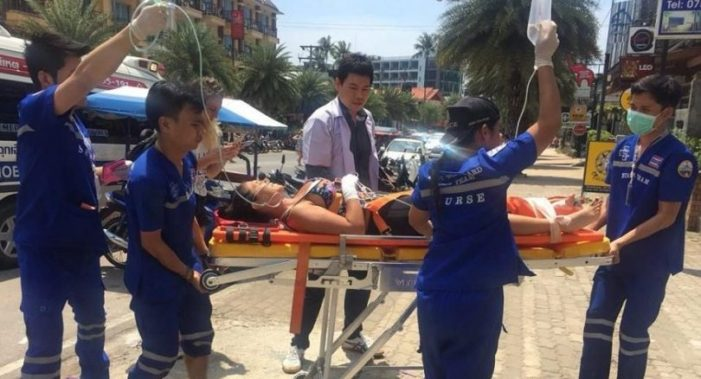 Argentinian Woman Seriously Injured after Falling from Cliff in Southern Thailand