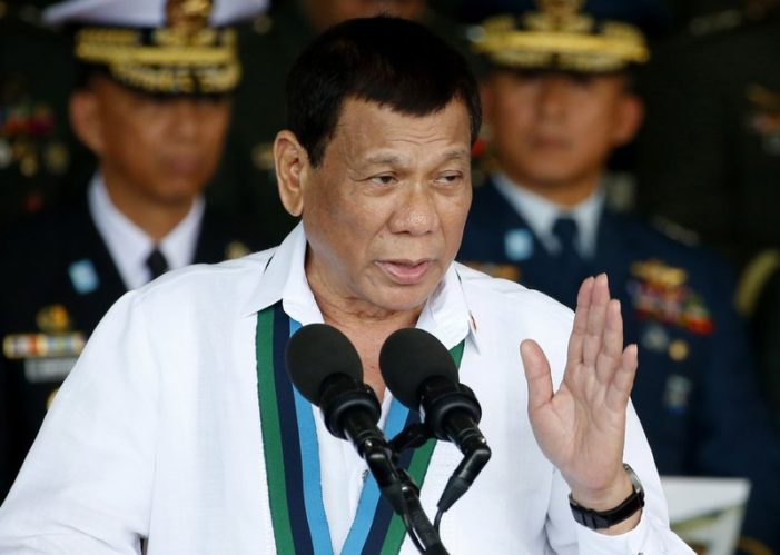 Duterte Withdrawing Philippines from International Criminal Court