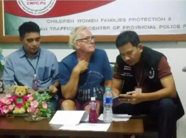 Dutchman Nabbed with Three Under-aged Boys and Sex Videos in Pattaya