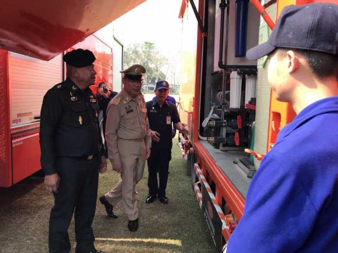 Chiang Rai Governor Inspects Readiness of Chiang Rai Disaster Mitigation Center