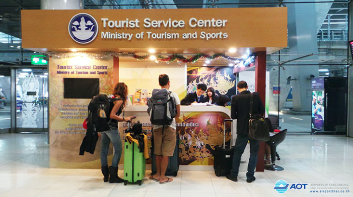 Thailand's Ministry of Tourism and Sports to Setup More Tourist Assistance Centers Nationwide