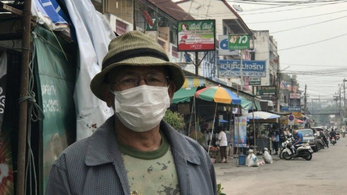 Thailand's Ministry of Public Health to Handout Face Masks to Northern Communities Affected by Choking Haze
