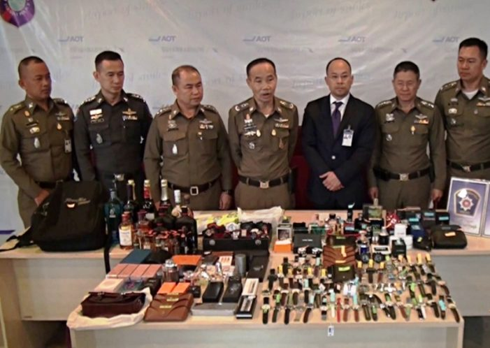 Eight Luggage Handlers Arrested for Theft at Bangkok Suvarnabhumi Airport