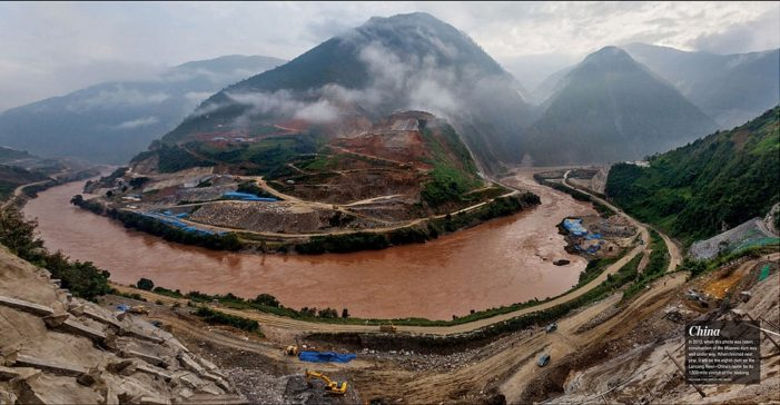 China's Belt and Road Money Floods Environmental Concerns Over Mekong Dam Construction
