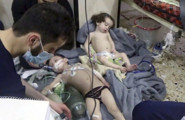 Suspected Poison Gas Kills at Least 40 in Damascus