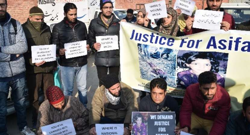 Eight on Trial for Rape and Murder of Eight Year-Old Girl in India's Kashmir Amid Public Anger