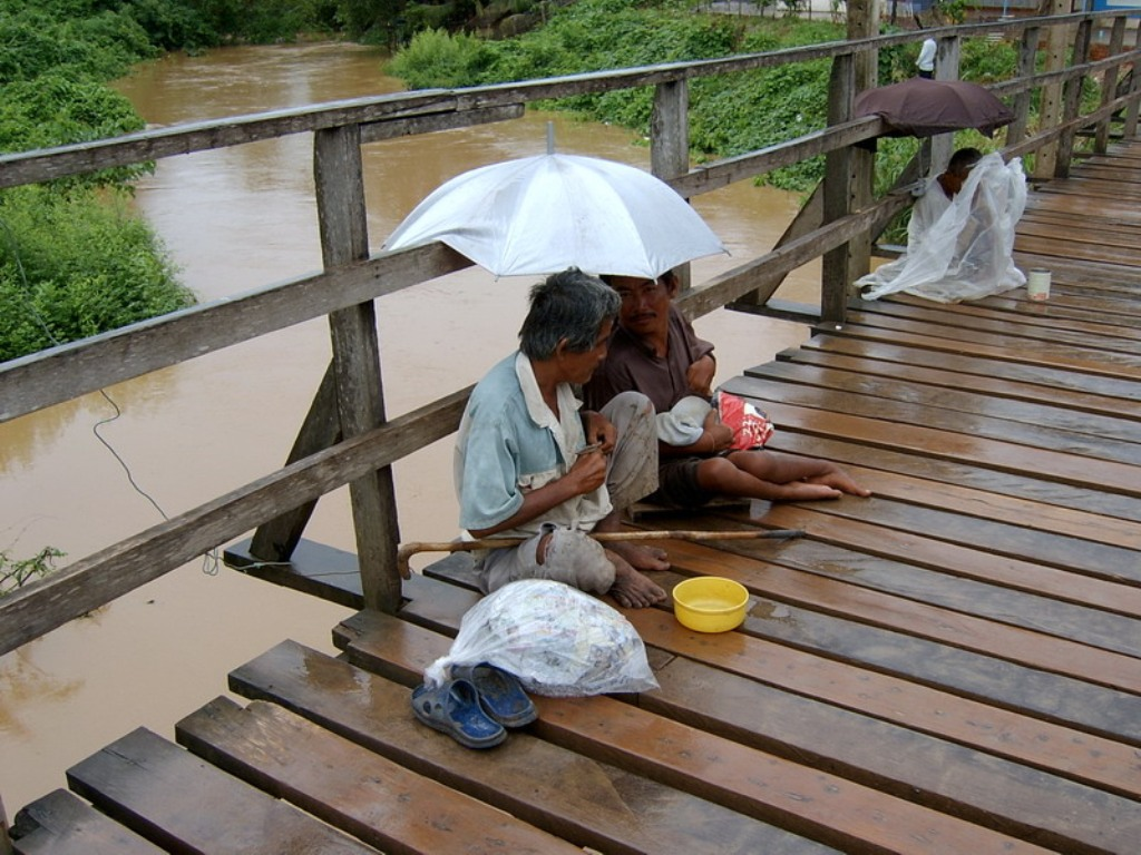 Authorities Urged to Help Beggars and the Homeless People in Thailand