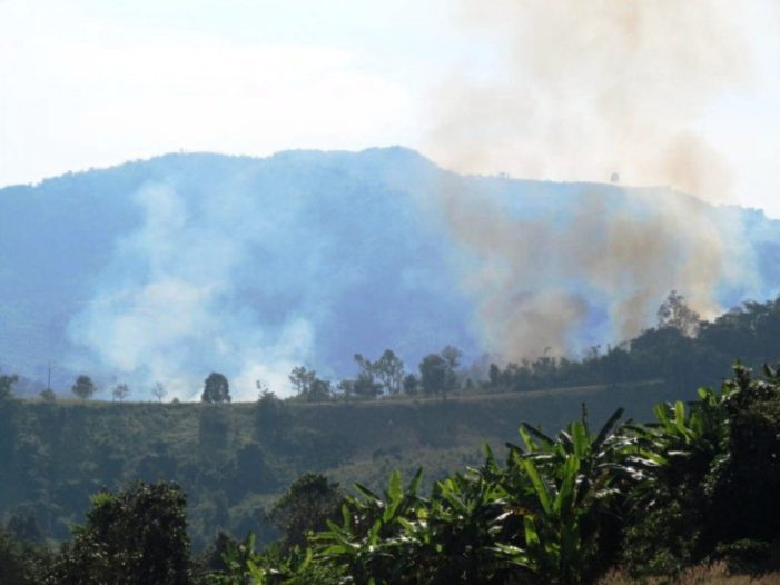 Chiang Rai Province to Use Geo-Informatics and Space Technology to Combat Forest Fires