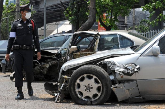 Songkran's Holiday Festival Road Death Almost Doubles in One Single Day