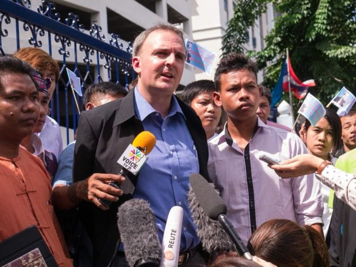 Bangkok Court Issues Arrest Warrant for British Rights Activist Andy Hall