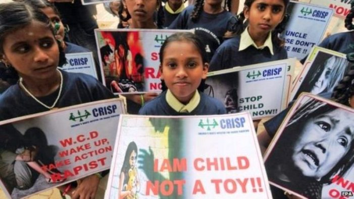 India Approves Death Penalty for Rape of Girls Under 12 Years Old
