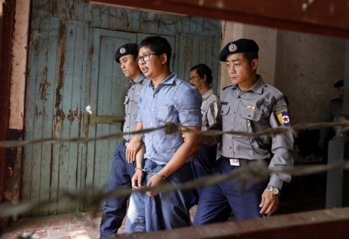 They Documented a Massacre – Their Prize – A Prison Cell in Yangon Myanmar.
