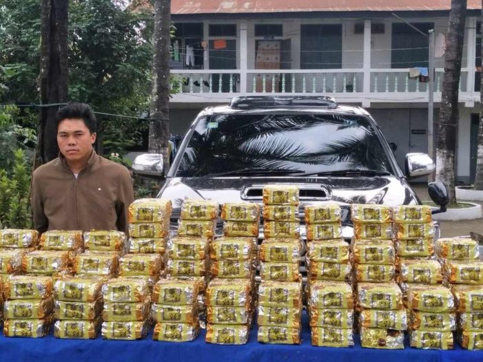 Myanmar Police in the Border Town of Tachilek, Stop Crystal Meth Shipment Before it Entered Chiang Rai