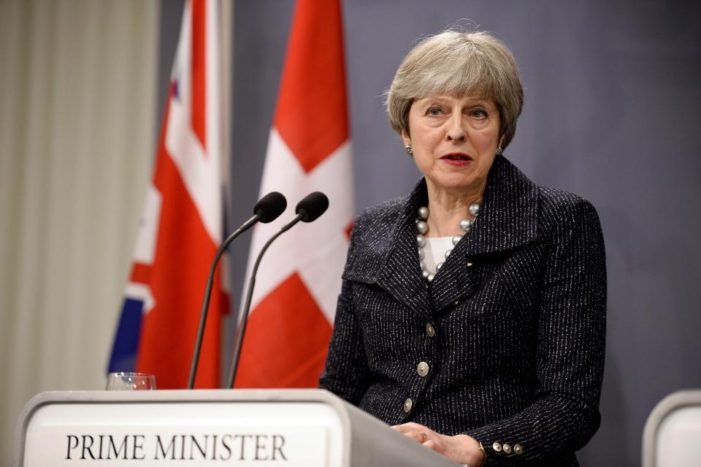 British PM Calls Emergency Cabinet Meeting to Discuss the Response to Events in Syria