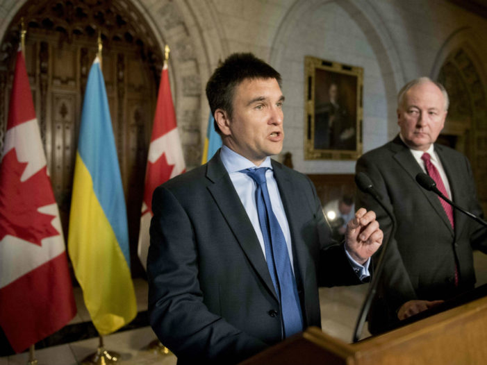 Ukraine's Foreign Minister Warns G7 of Threat to Western Democracy from Russia