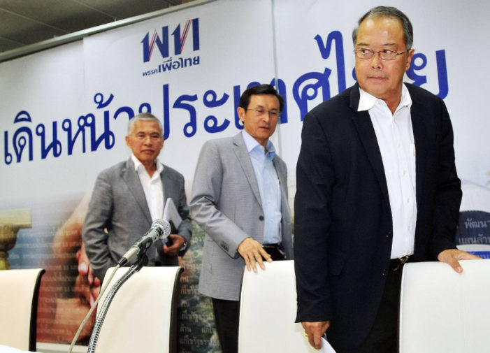 Thai Junta Charges Three Pheu Thai Leaders with Sedition for Holding a Press Conference