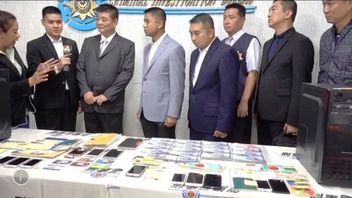 Thai Tourist Police Bust Taiwanese Fraudsters Trying to Scam Thai Seniors