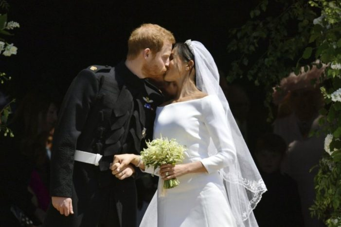 """Queen Elizabeth II Bestows Prince Harry and Meghan Markle with New Title """"The Duke and Duchess of Sussex"""""""