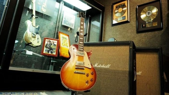 Legendary Guitar Manufacturer Gibson Files for Bankruptcy Protection