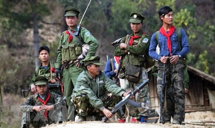 Myanmar Army and Shan State Clash in Northern Myanmar Leaving at Least 19 Dead