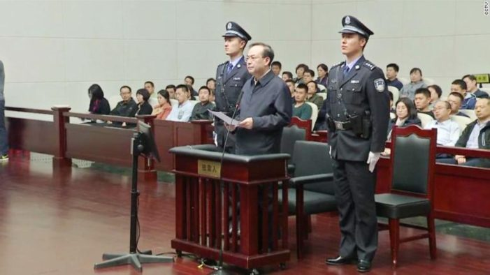 Former Chinese Rising Political Star Sentenced to Life Imprisonment for Graft