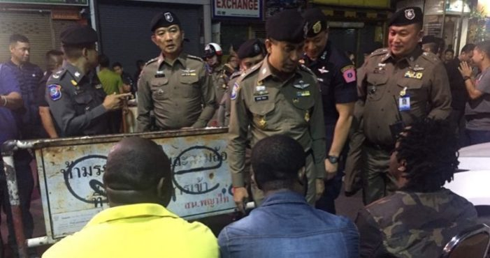 Raids Led by Thailand's Immigration and Tourist Police Leads to the Arrest of 63 Foreigners