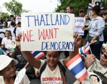 Over Three Thousand Police Officers Ordered to Block Pro Election March in Bangkok