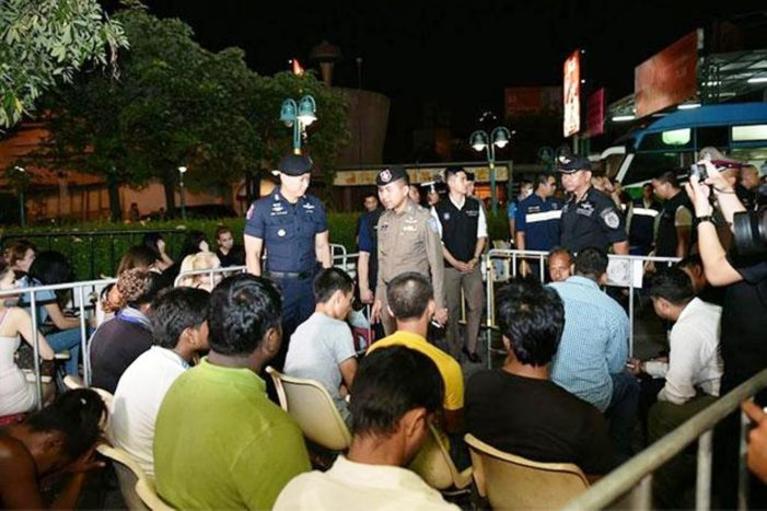 Authorities Arrest 36 Foreigners in Raids at Over a Hundred Locations Across Thailand