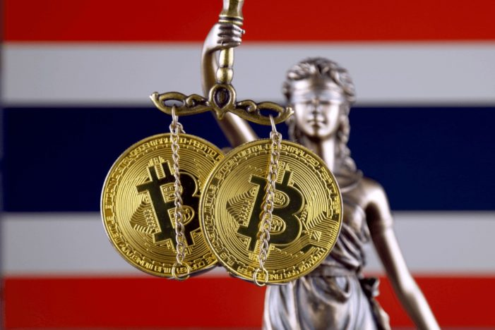 Thailand Creates Tough New Crypto-Currency Law Which Includes Fines and Jail Terms