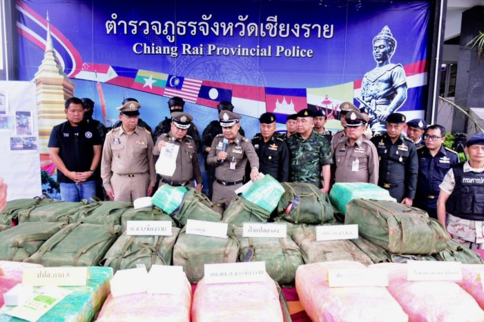 Two Thai Lawyers Busted Transporting 860Kg of Crystal Meth in Chiang Rai