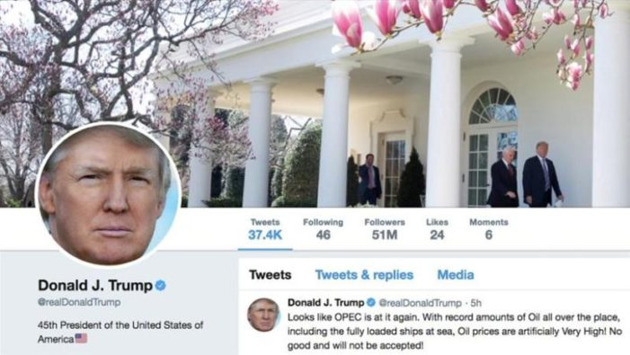 U.S. District Judge Rules President Trump Can't Block People on Twitter