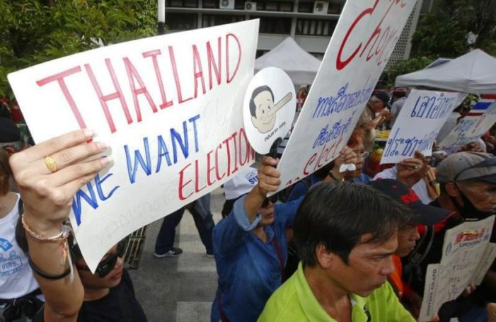Thaland's Pro Election Activists Vow to March on Government House on Fourth Anniversary of Gen Prayut's Coup