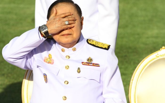 """Thailand's Anti-Graft Commission Says It """"Needs More Time"""" to Probe Gen. Prawit's Watches"""