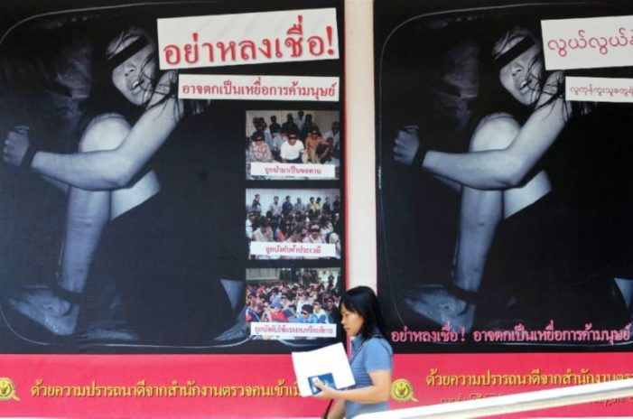 Royal Thai Police Drafting Guidelines to Tackle Human Trafficking