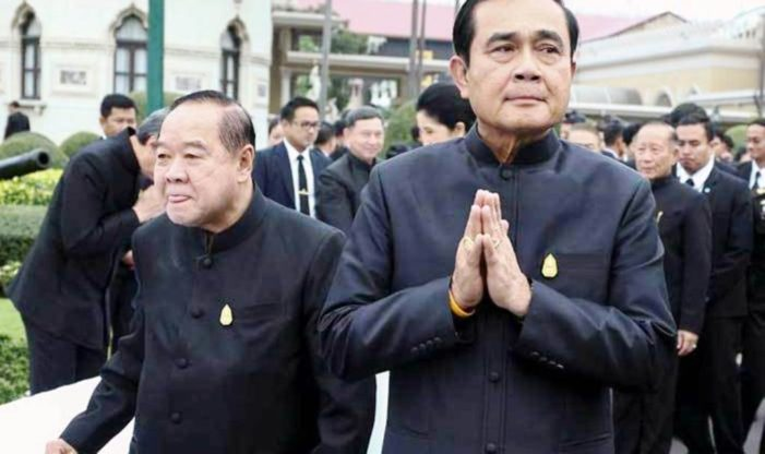 Thailand's Military Junta Dictating its Term and Future in Political Office