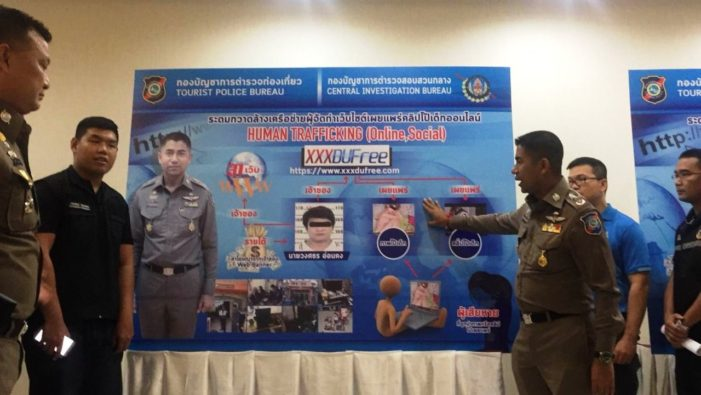 Six Thai Arrested, 500 Child Porn Websites Blocked in Anti-Trafficking Crackdown