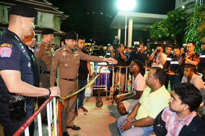 Thailand's Tourist Police Arrested 107 Foreigners in Coordinated Raids Across the Country