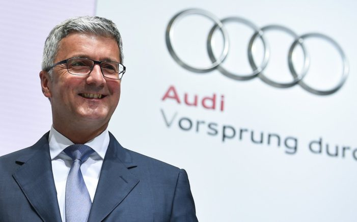 Audi Chief Executive Rupert Stadler Arrested Over Emissions Cheating Scandal