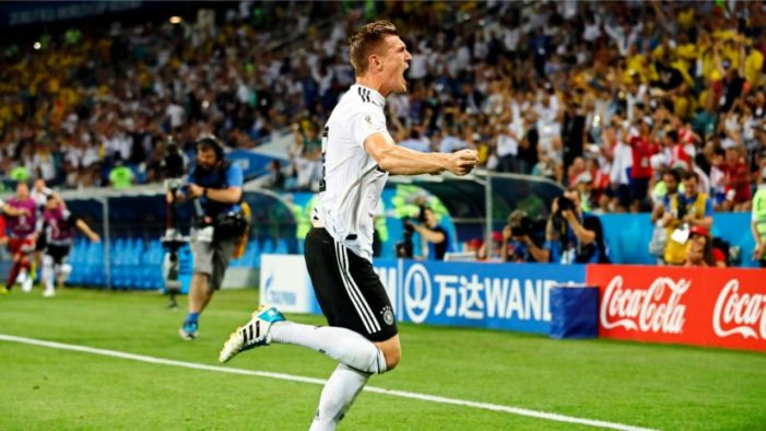 Germany Rescues World Cup Hopes in 2-1 Win Against Sweden